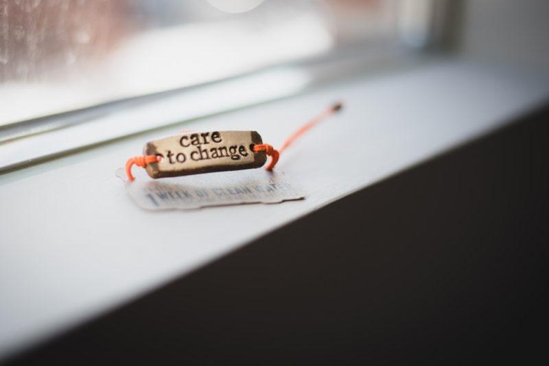 care to change mudlove bracelet