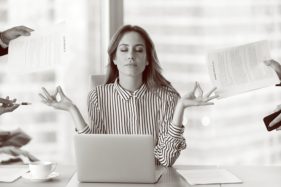 Workplace stress and anxiety